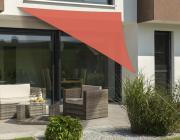 Schneider Sonnensegel Teneriffa 360x360x360 terracotta dreieckig UV-Schutz (ca.90%)