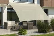 Schneider Sonnensegel Teneriffa 500x500 natur quadratisch UV-Schutz (ca.90%)
