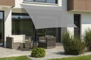 Schneider Sonnensegel Teneriffa 500x500 silbergrau quadratisch UV-Schutz (ca.90%)
