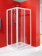 Schulte Duschkabine Alexa Style Eckeinstieg mit Schiebetüren 4-teilig