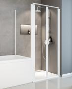 Schulte Duschkabine Sunny Pendeltür 2-teilig mit verkürzter Seitenwand