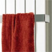 Schulte Handtuchhalter Edelstahl 510 x 95 mm für Wohnraumheizkörper Aachen, Lyon und New York