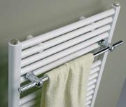 Schulte Handtuchstange Weiß 500 mm für Heizkörper Wien, München und Oslo
