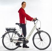 Segway E-Bike TF 5.1 Damenfahrrad dusty white matt 250W RH48