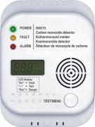 Smartwares Kohlenmonoxid Melder RM370 inkl. Batterien und Befestigung ca. 5 Jahre Lebensdauer Prüftaste für Funktionstest