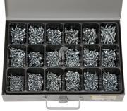 Sortiment Blechschrauben DIN 7981 2,9 x 9,5 - 4,8 x 32 mm 1450 Teile