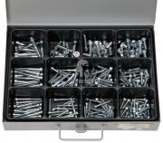 Sortiment Innen Sechskantschrauben DIN 912 VZ, Güte 8.8, 5 x 20 - 8 x 50 mm 205 Teile
