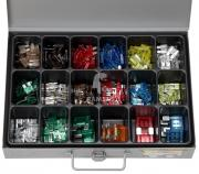 Sortiment Sicherungen Standard 5 -30 Amp, Mini 5 -30 Amp, Maxi 30 - 60 Amp 327 Teile