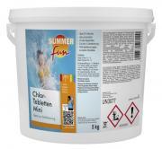 Summer fun Wasserpflegeprodukt Chlormethode Chlor-Tabletten Mini 5 kg