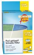Summer fun Wasserpflegeprodukt Sauerstoffmethode Clear and Fun 5 x 50 g