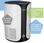 Suntec Luftreiniger AirCare 1000 VirusEx H14 Ion Luftfilter Aerosole HEPA