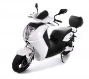 SXT-Scooters Elektroroller E-Roller Motorroller SONIX max. 80 km/h schwarz/weiss