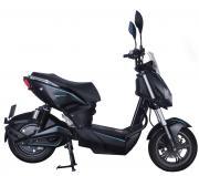 SXT-Scooters Elektroroller Motorroller E-Roller SXT Raptor V3 schwarz/neonblau Reichweite ca. 50 km 45 km/h