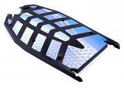 SXT-Scooters Ersatzteil Trittbrett Kunststoff Farbe weiss für SXT300