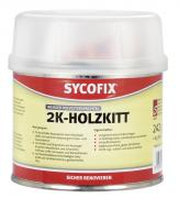 SYCOFIX 2-K Holzkitt Holzspachtelmasse 250 g inkl. 8 g Härter für innen und außen