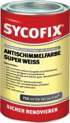 SYCOFIX Antischimmelfarbe Dispersionsfarbe super weiß 750 ml gebrauchsfertig hochdeckend matt einfärbbar für innen