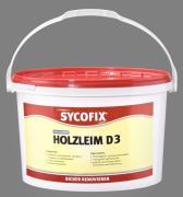 SYCOFIX Holzleim D3 Kunstharzleim 5 kg gebrauchsfertig transparent wasserfest für innen und außen