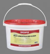 SYCOFIX Multi - Spachteln und Kleben Spachtel- und Klebemasse 12,5 kg gebrauchsfertig für innen und außen