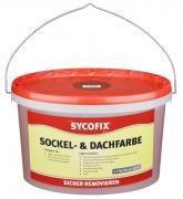SYCOFIX Sockel- & Dachfarbe ziegelrot 5 L gebrauchsfertig matt