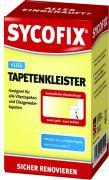 SYCOFIX Vliestapetenkleister Glasgewebetapetenkleister Stärkekleister gelb 270 g farblos auftrocknend Auftragskontrolle
