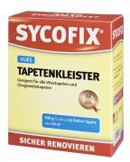 SYCOFIX Vliestapetenkleister Glasgewebetapetenkleister Stärkekleister gelb 500 g farblos auftrocknend Auftragskontrolle