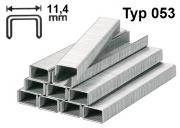 Tackerklammern Type 053 6 mm Stahldraht 11,4 mm 1800 Stk./Pack