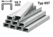 Tackerklammern Type 057 14 mm Stahldraht 10,7 mm 1400 Stk./Pack