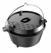 Tepro Dutch Oven Camp Oven aus Gusseisen L