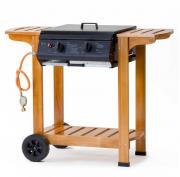 Tepro Gasgrill Grillwagen mit Holzgestell Pittsburgh