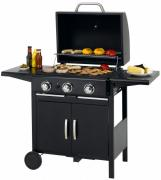 Tepro Gasgrill Mayfield mit Doppelgrillrost