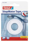 tesa Dichtungsband StopWater 12 m x 12 mm weiss wasserfeste Abdichtung