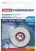 tesa doppelseitiges Montageband Powerbond SPIEGEL 1,5m x 19mm