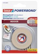 tesa doppelseitiges Montageband Powerbond für Innen 1,5m x 19mm