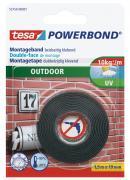 tesa doppelseitiges Montageband Powerbond Outdoor 1,5m x 19mm