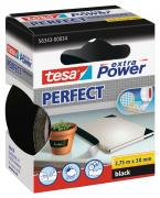 tesa Gewebeband extra Power Perfect schwarz 2,75m x 38mm
