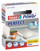 tesa Gewebeband extra Power Perfect weiß 2,75m x 19mm