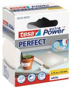 tesa Gewebeband extra Power Perfect weiß 2,75m x 38mm