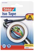 tesa Isolierband Abdichtband Dichtungsband Kabelklebeband 10m x 15mm weiss