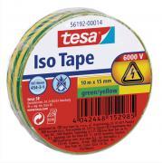 tesa Isolierband Iso Tape Abdichtband Dichtungsband Kabelklebeband grün gelb 10m x 15mm