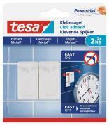 tesa Klebenagel für Fliesen und Metall Belastung bis 2kg Packung mit 2 Stück