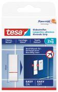 tesa Klebestreifen für Fliesen und Metall Belastbarkeit 2kg 9 Stück weiß