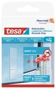 tesa Klebestreifen für transparente Oberflächen und Glas Belastbarkeit 1kg 8 Stück