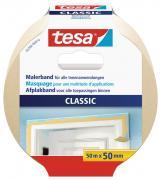 tesa Malerband Kreppband Klebeband CLASSIC 50m x 50mm