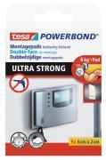 tesa Montagepads doppelseitige Powerbond ULTRA STRONG hält bis zu 6 kg - 9 Stück