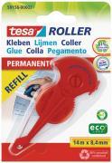 tesa Nachfüllkassette für tesa Kleberoller dauerhaftes Kleben 14m x 8,4mm