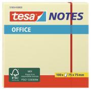 tesa Notes Haftnotizen Klebenotizen Haftnotizblock Büro 100 Blatt gelb 75mm x 75mm