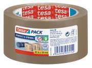 tesa Packband Perfect + Strong PP Qualität braun 66m x 50mm