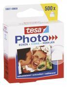 tesa Photo Ecken selbstklebend transparent Packung mit 500 Stück Foto