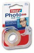 tesa Photo Handabroller Tesaabroller inkl. doppelseitigem Klebefilm für Fotos 7,5m x 12mm