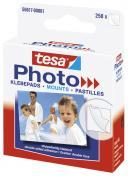 tesa Photo Klebepads weiß beidseitig klebend Packung mit 250 Stück Foto
